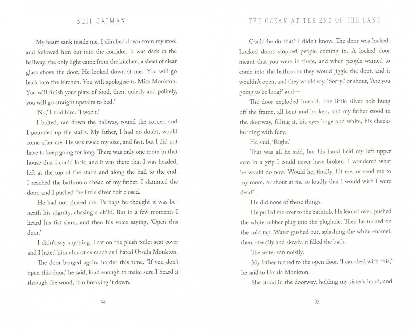 Иллюстрация 1 из 19 для Ocean at the End of the Lane - Neil Gaiman | Лабиринт - книги. Источник: Лабиринт