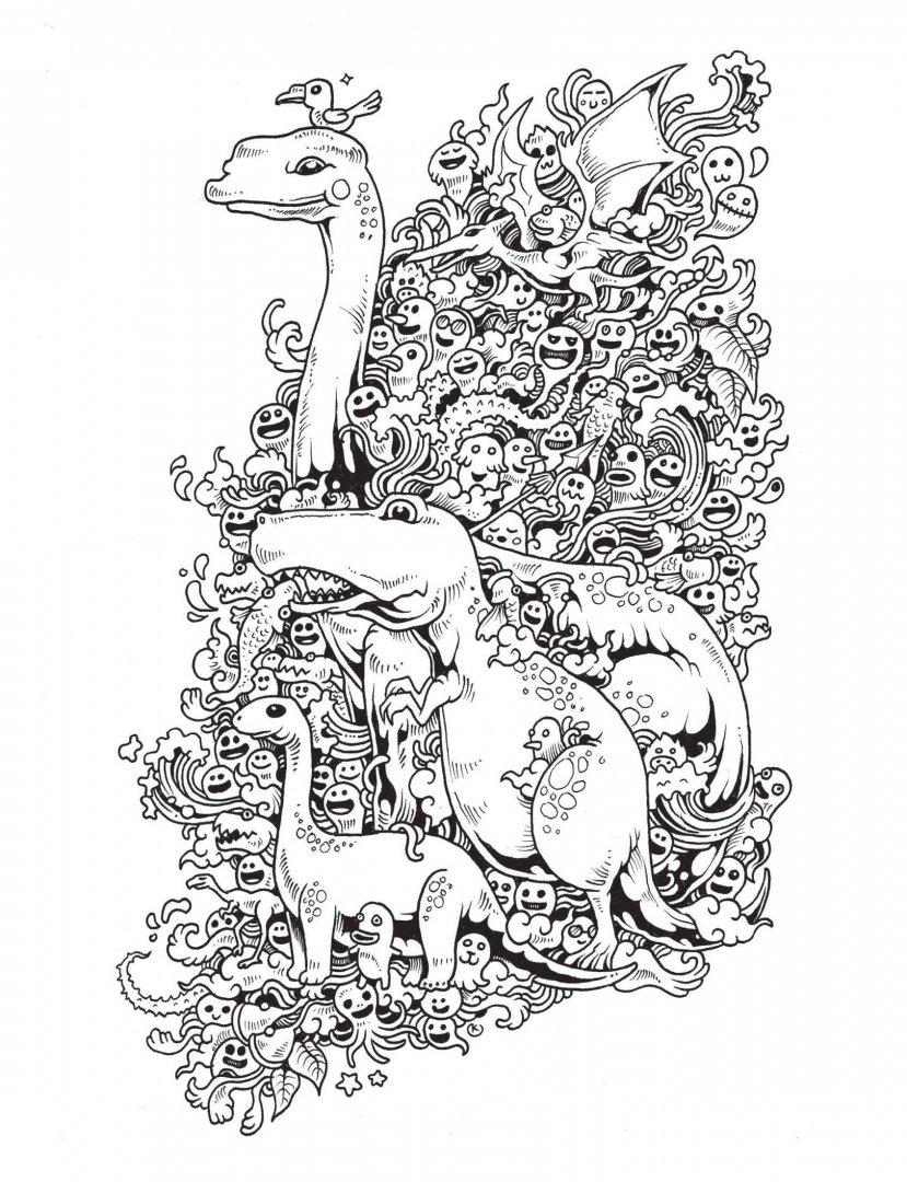 Иллюстрация 7 из 107 для Вторжение дудлов. Не самая ...