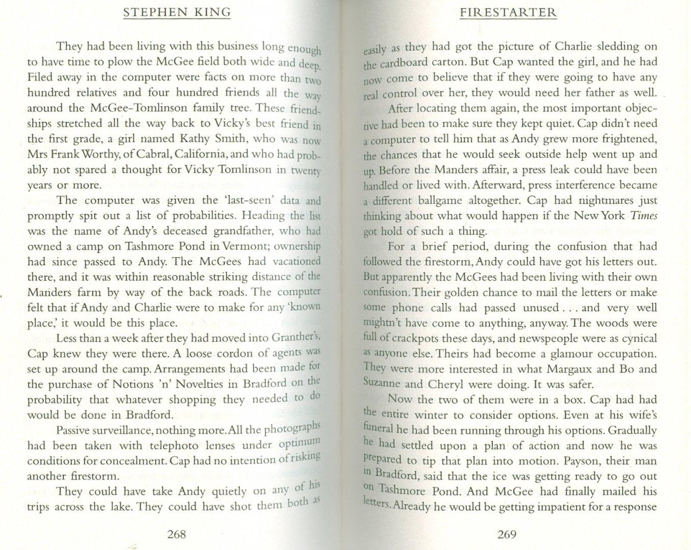 Иллюстрация 1 из 4 для Firestarter - Stephen King | Лабиринт - книги. Источник: Лабиринт