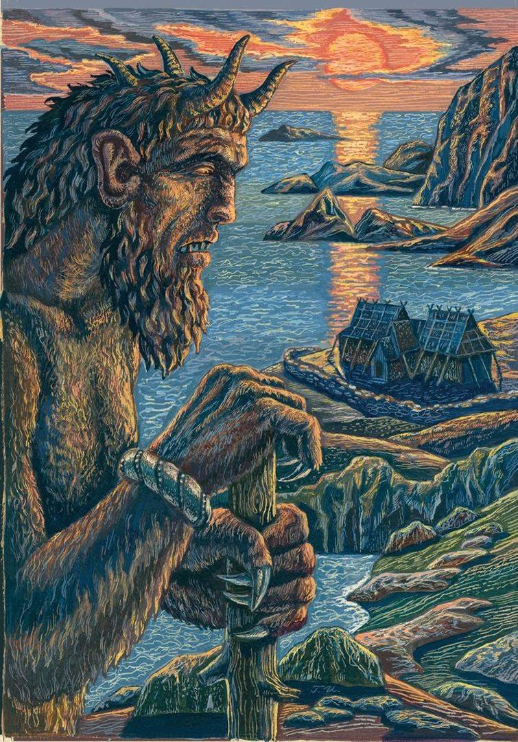Беовульф картинки из эпоса