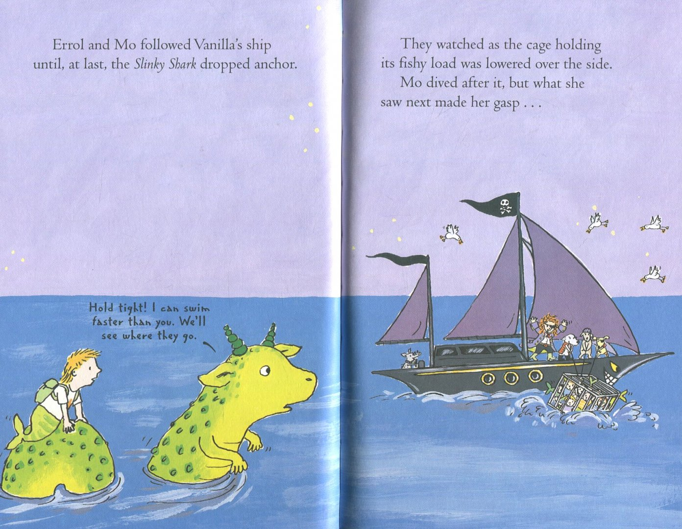 Иллюстрация 1 из 10 для The Three Little Pirates - Georgie Adams | Лабиринт - книги. Источник: Лабиринт
