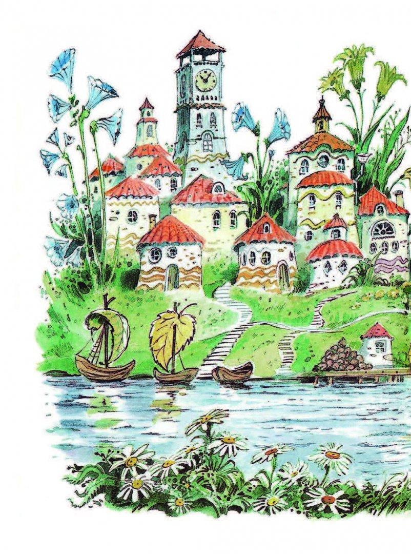 цветочный город картинка прзрачная оберег
