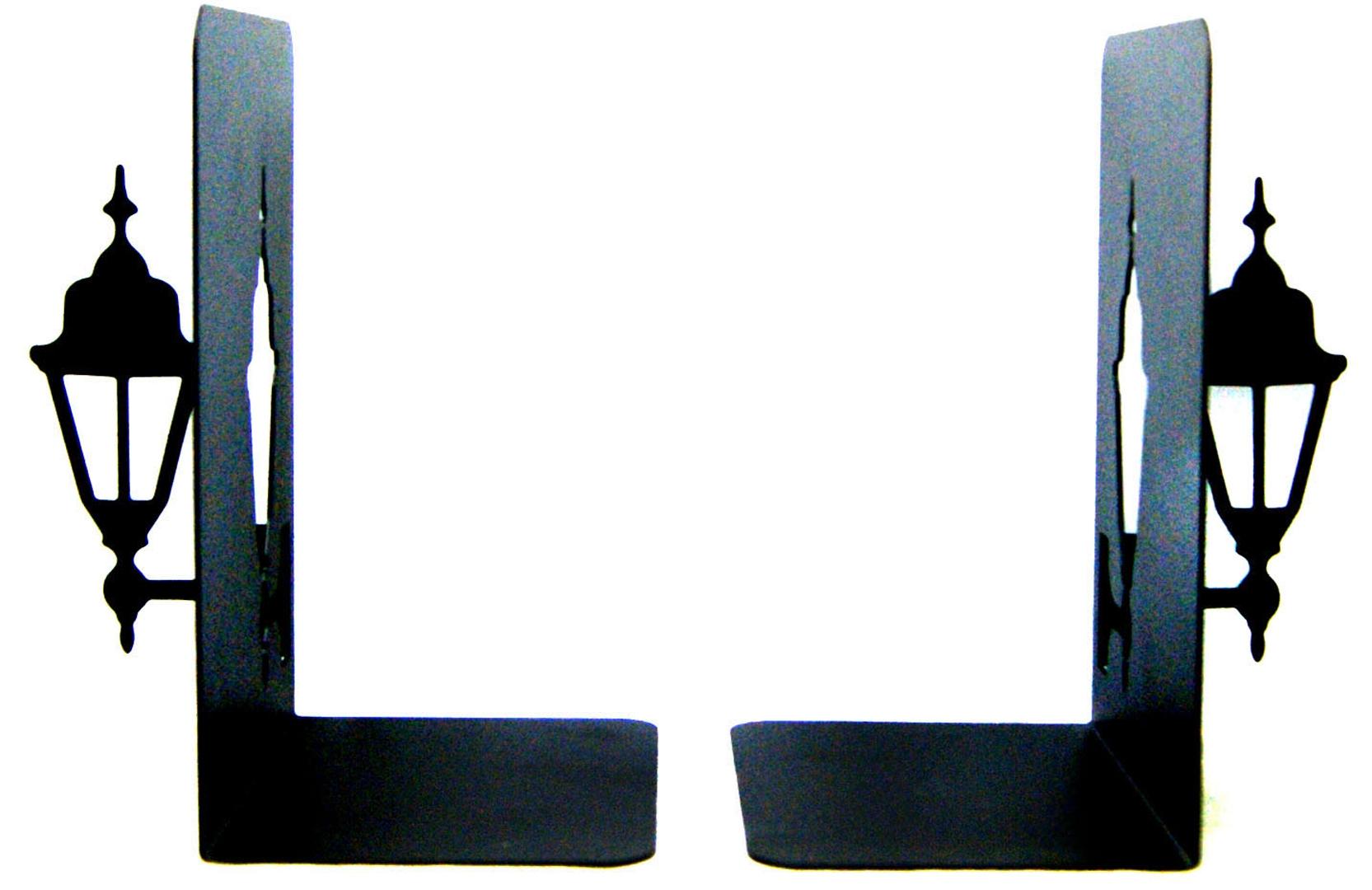 """Иллюстрация 1 из 5 для Подставка-ограничитель для книг """"Фонари"""", комплект из 2 штук (36097)   Лабиринт - канцтовы. Источник: Лабиринт"""
