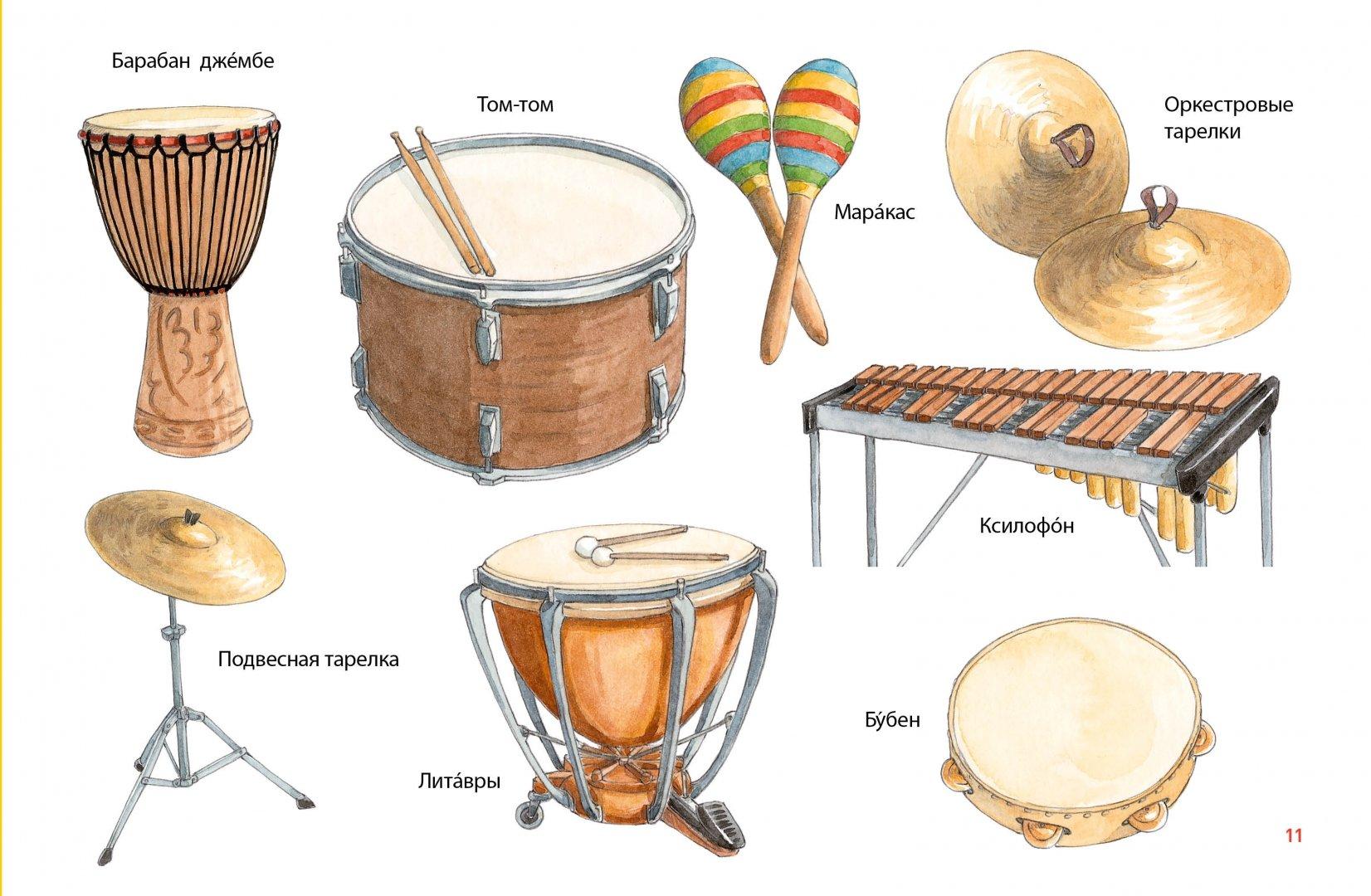 Картинки музыкальных инструментов для детей с названиями 2 класс, летием свадьбы