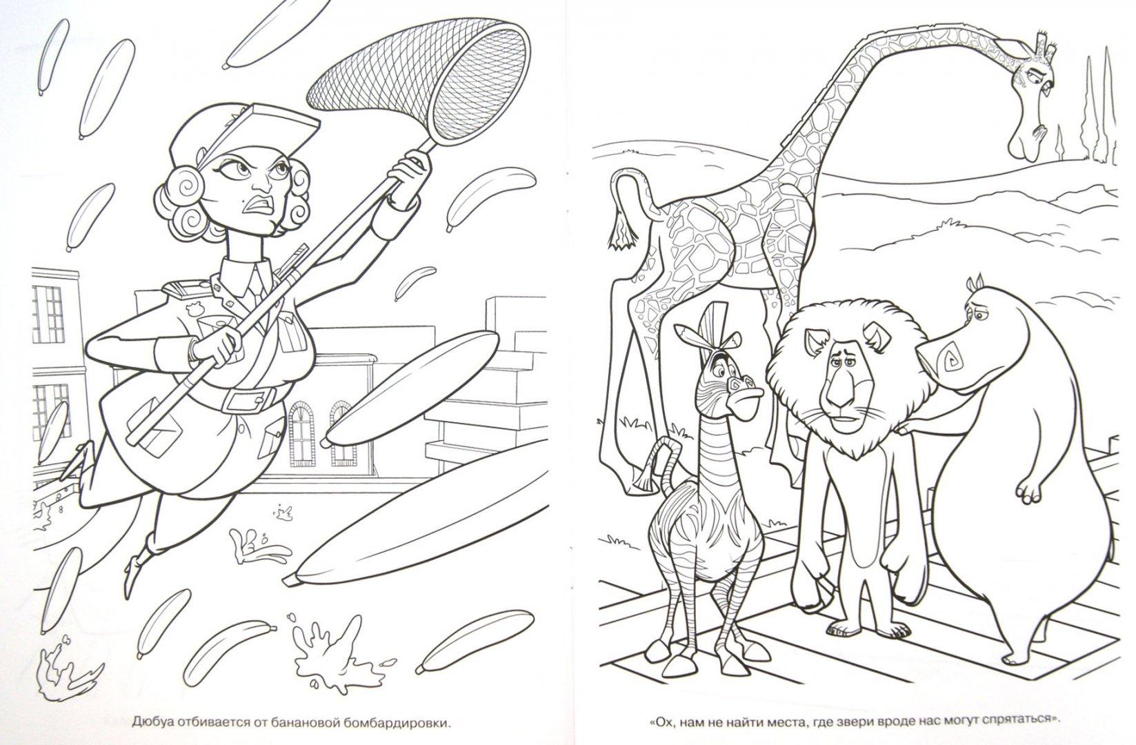 "Иллюстрация 1 из 1 для Волшебная раскраска ""Мадагаскар 3 ..."