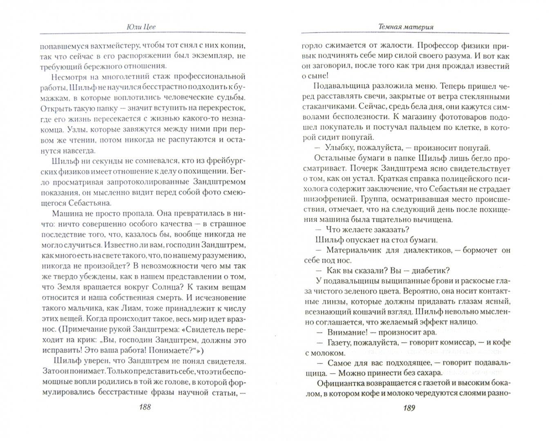 Иллюстрация 1 из 10 для Темная материя - Юли Цее | Лабиринт - книги. Источник: Лабиринт