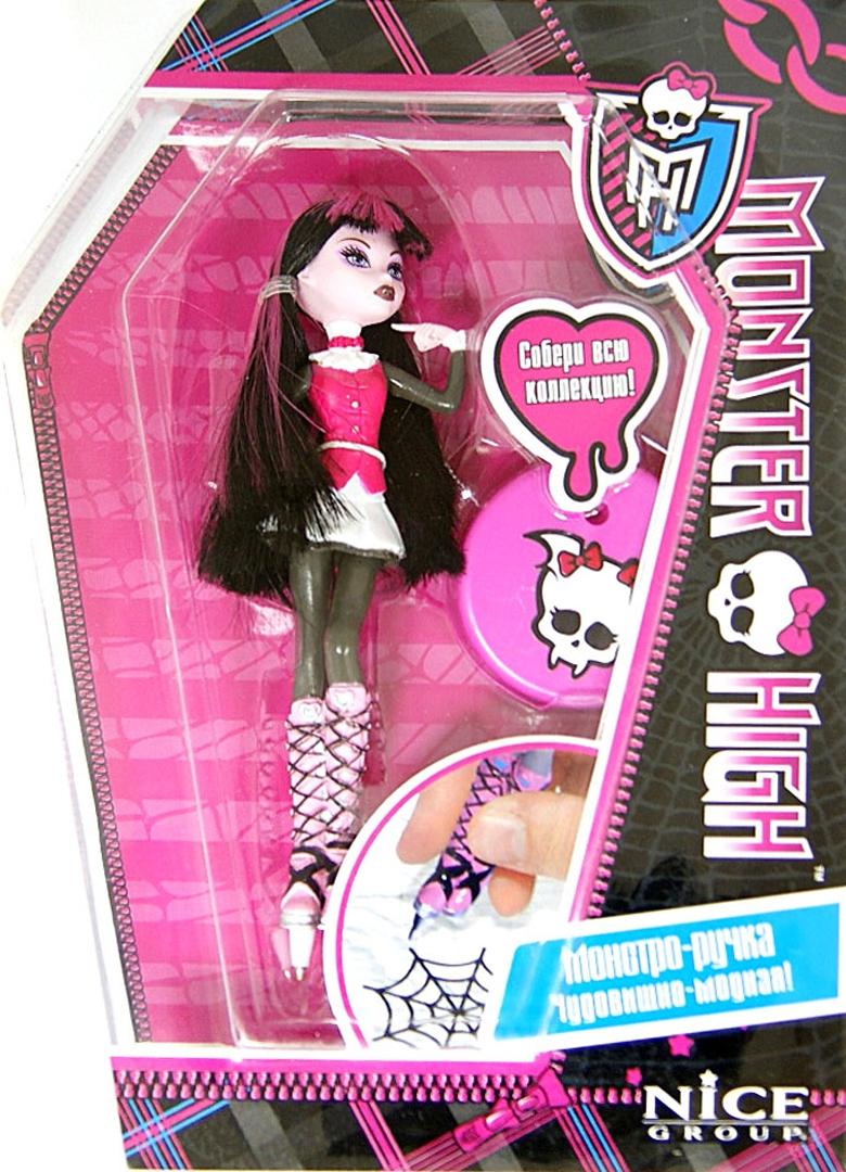 Иллюстрация 1 из 2 для 3D DOLL PEN. Monster High. Ручка с подставкой. В ассортименте | Лабиринт - канцтовы. Источник: Лабиринт