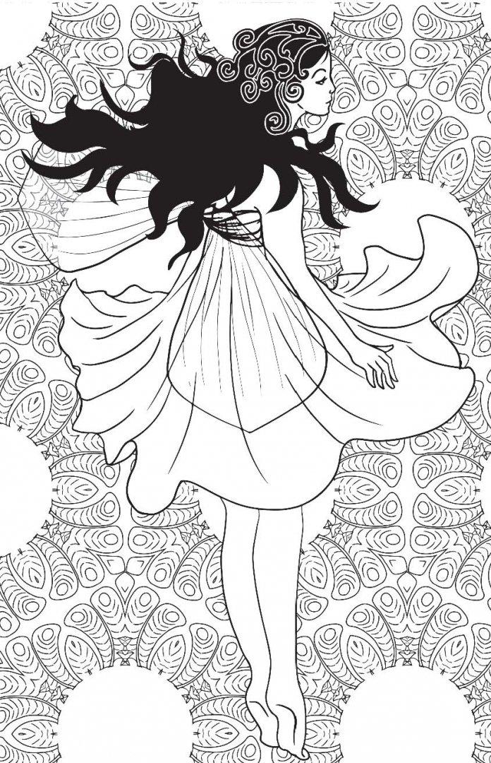 Иллюстрация 8 из 72 для Лесные феи. Мини-раскраска ...