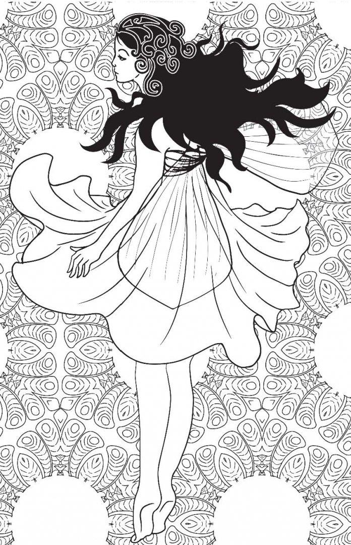 Иллюстрация 9 из 60 для Лесные феи. Мини-раскраска ...