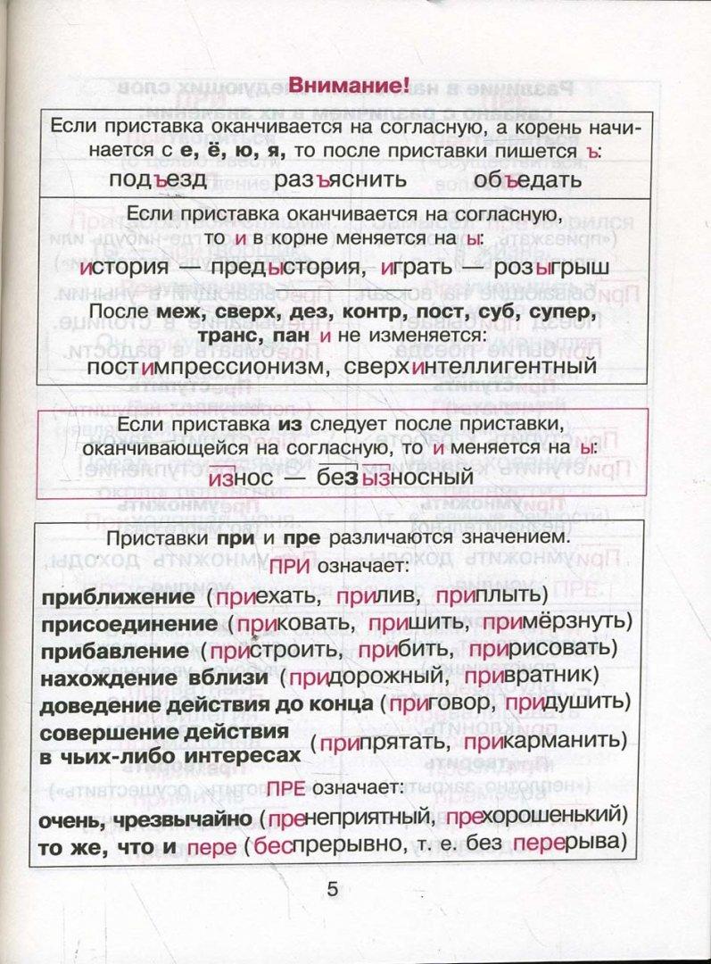 Иллюстрация 1 из 18 для Правила русского языка в таблицах и схемах - Елизавета Арбатова | Лабиринт - книги. Источник: Лабиринт