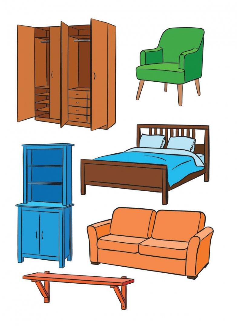 картинки с изображением мебели в комнате
