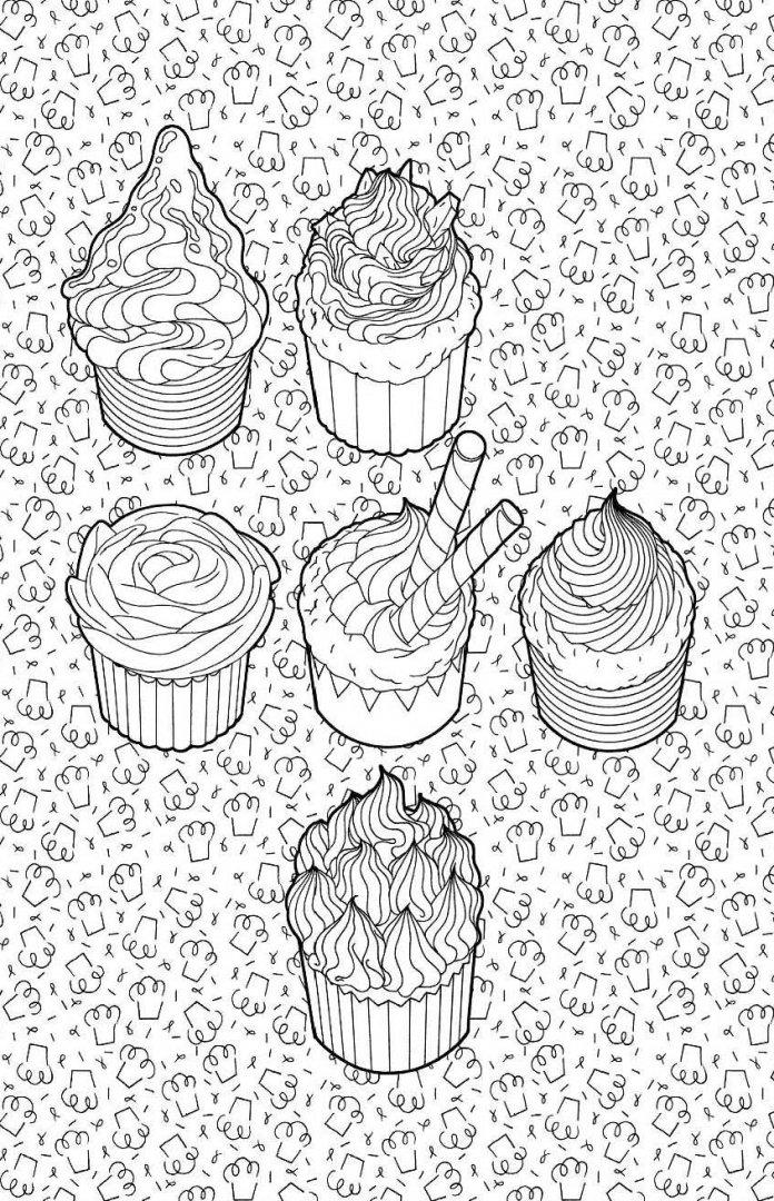 иллюстрация 6 из 41 для сладости мини раскраска антистресс