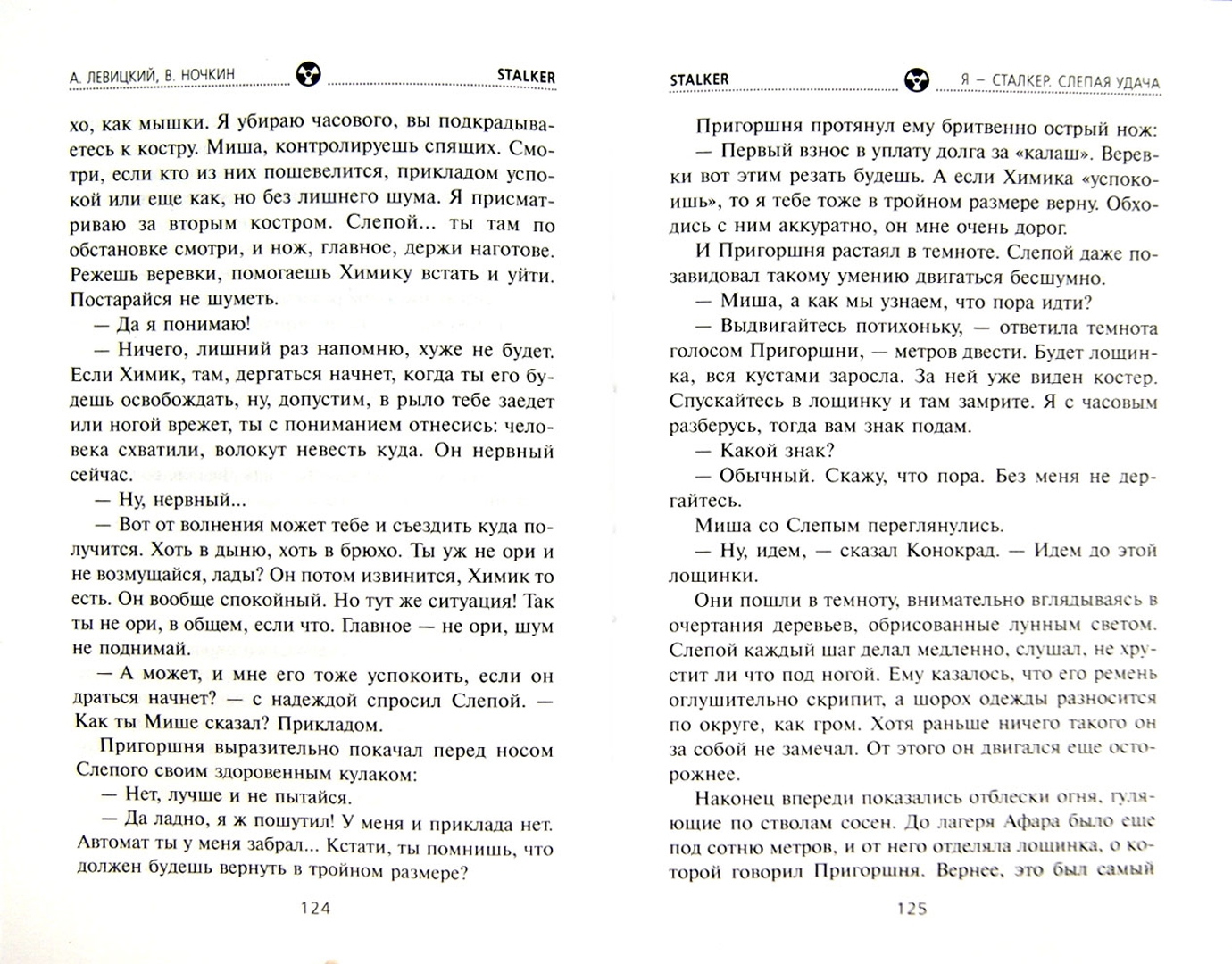 Иллюстрация 1 из 24 для Я - сталкер. Слепая удача - Левицкий, Ночкин | Лабиринт - книги. Источник: Лабиринт