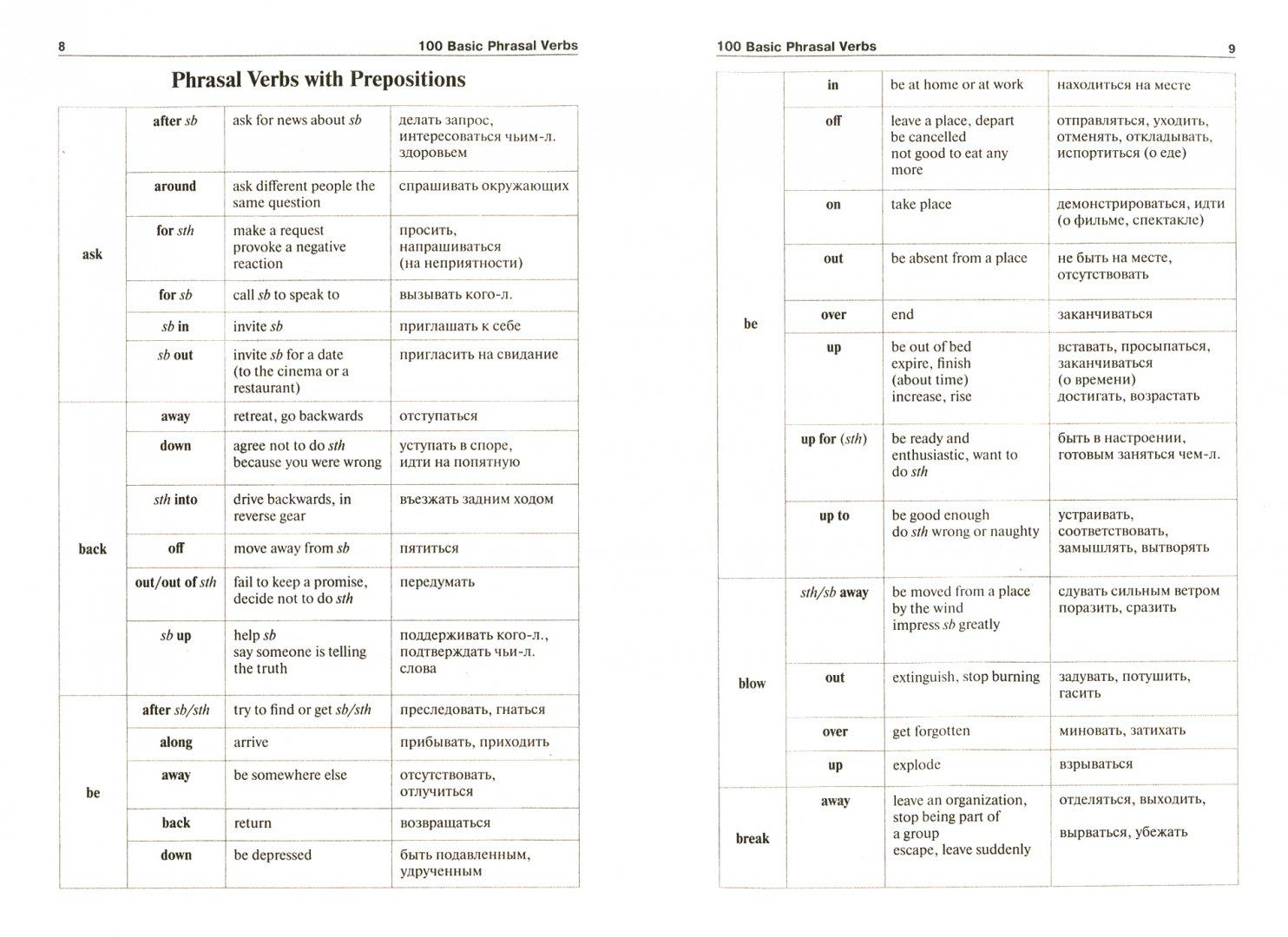 Иллюстрация 1 из 6 для 100 самых распространенных английских фразовых глаголов - Елена Васильева | Лабиринт - книги. Источник: Лабиринт