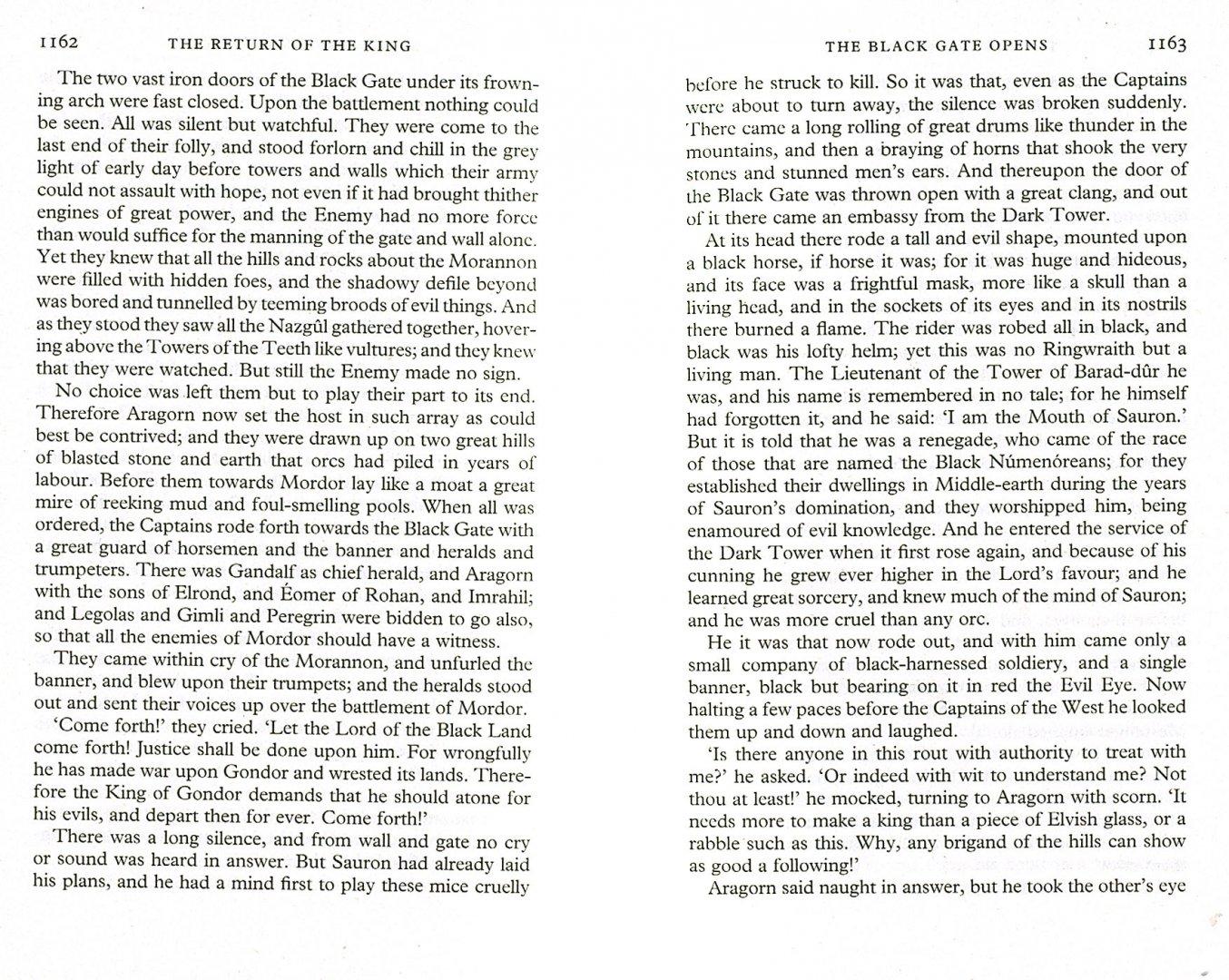 Иллюстрация 1 из 19 для The Lord of the Rings: The Return of the King - Tolkien John Ronald Reuel | Лабиринт - книги. Источник: Лабиринт