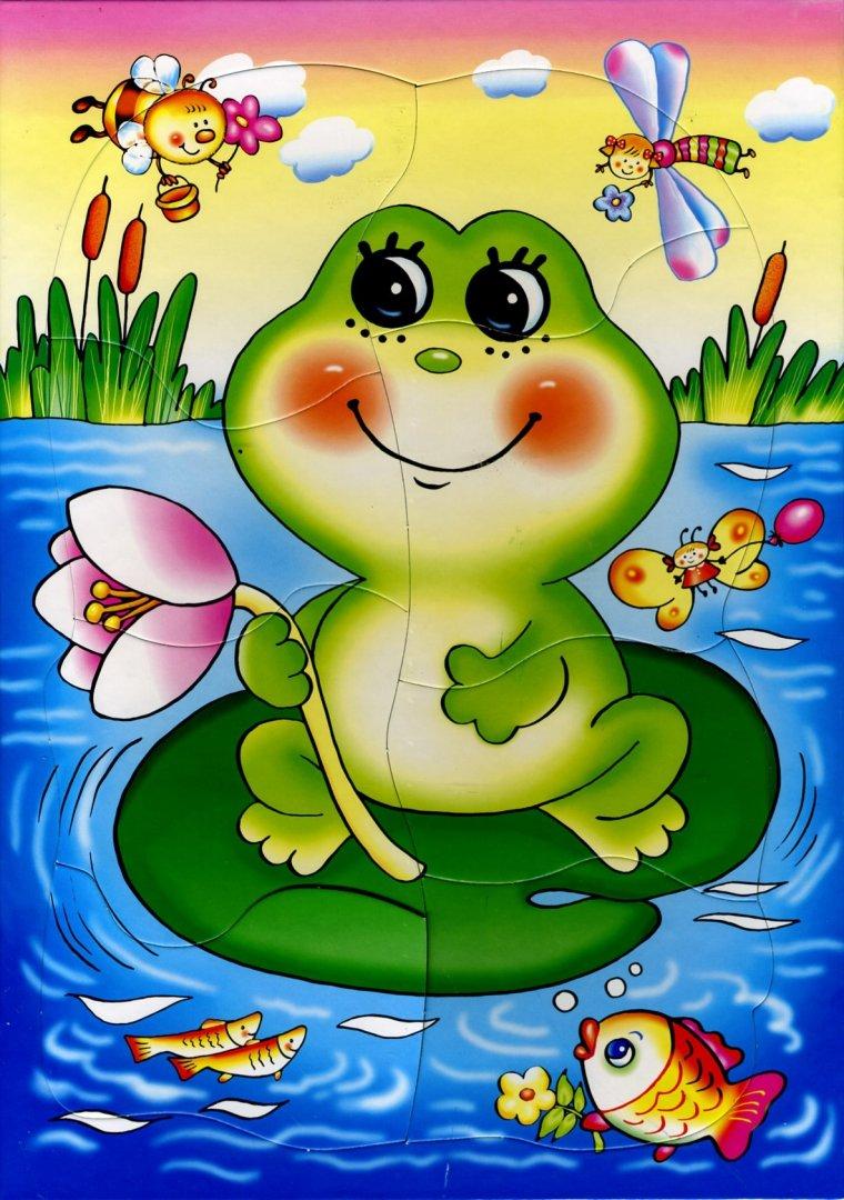 """Иллюстрация 1 из 4 для Развивающая рамка """"Лягушонок"""" (1198)   Лабиринт - игрушки. Источник: Лабиринт"""