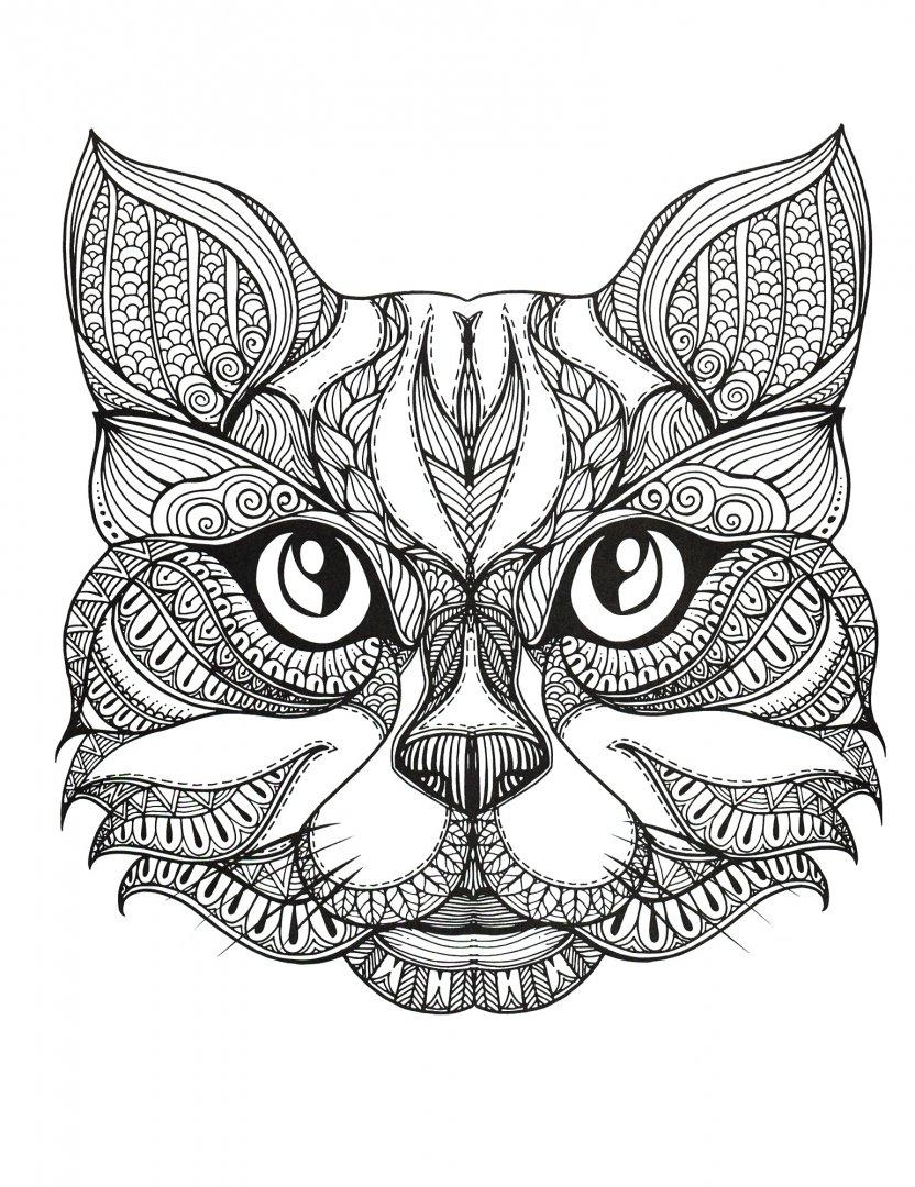 Иллюстрация 1 из 15 для Cats4. Творческая раскраска ...