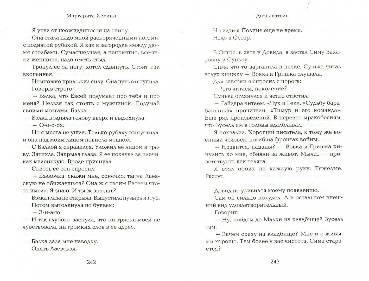 Иллюстрация 1 из 5 для Дознаватель - Маргарита Хемлин   Лабиринт - книги. Источник: Лабиринт
