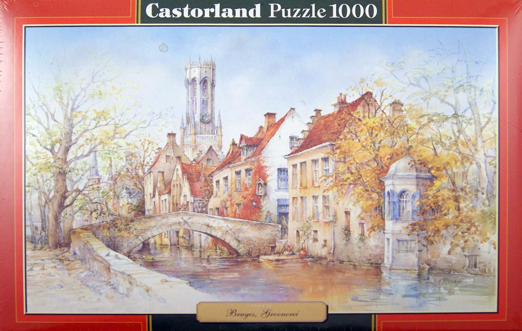 """Иллюстрация 1 из 12 для Puzzle 1000 элементов, """"Брюгге"""" (C-102686)   Лабиринт - игрушки. Источник: Лабиринт"""